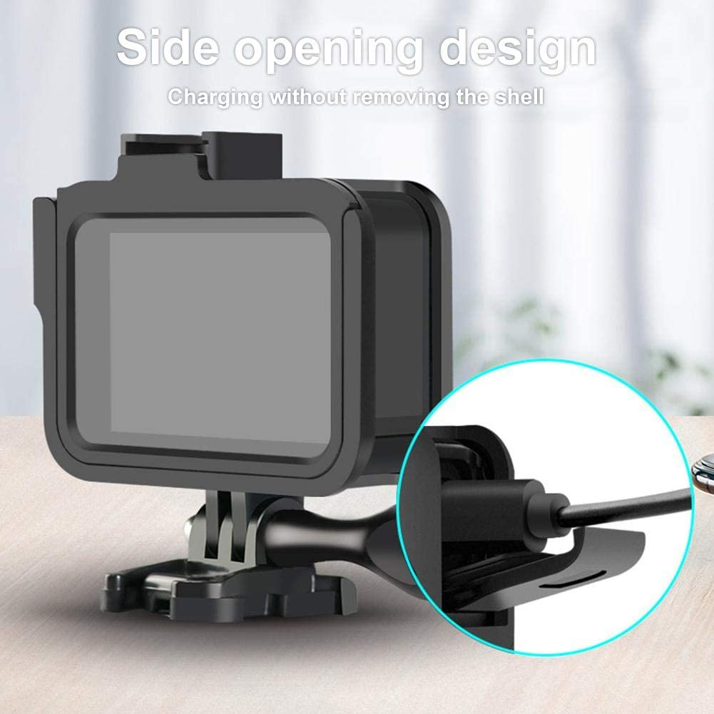 cobud Frame Protector Protective Case for GoPro Hero 8 Protection Sport Camera Portable Shell ABS Cover Ingenious