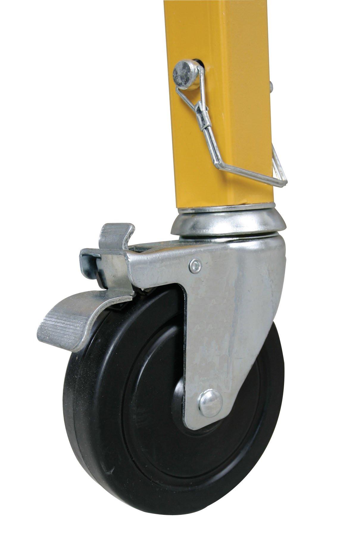 Werner SRC-72-4  5-Inch Swivel Lock Caster