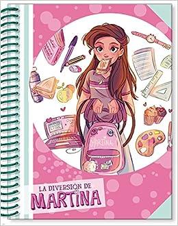 Libreta de La Diversión de Martina rosa La diversión de ...