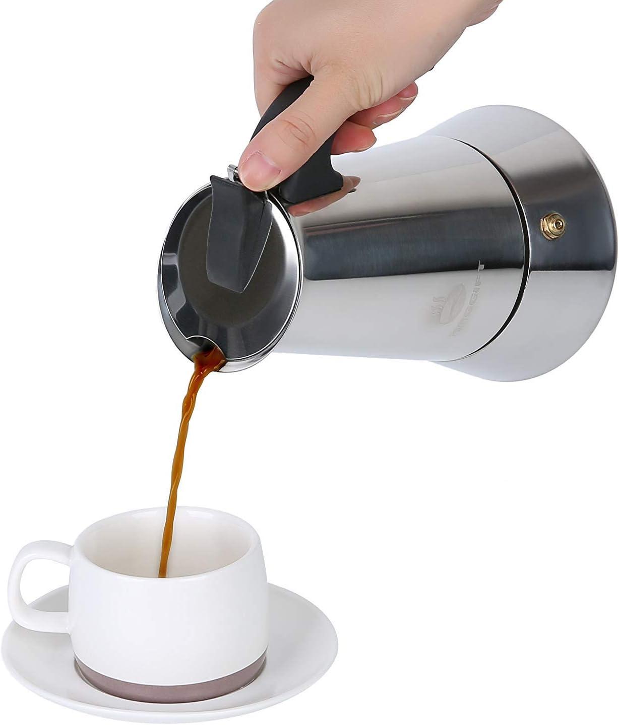 Amazon.com: Cafetera Greca Espresso Italiana Capuchino Moka ...