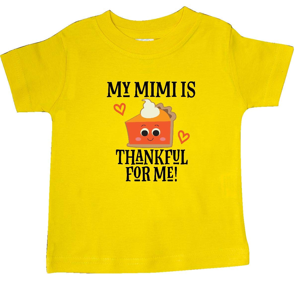 inktastic Thanksgiving Mimi Thankful Grandchild Baby T-Shirt