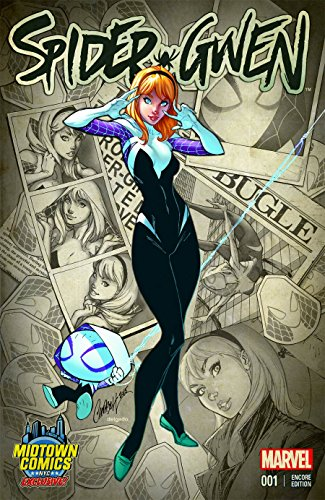 Spider-Gwen #1 Cover D Midtown Exclusive J Scott Campbell Encore Edition Variant (Exclusive Spider)