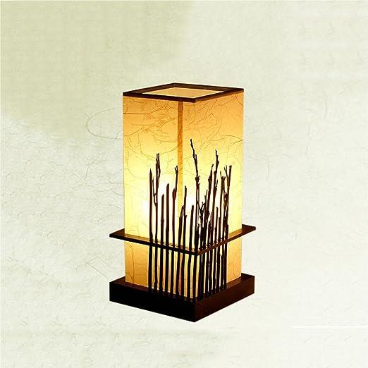 LZDHY Lámpara de mesa neo-clásica moderna Lámpara de cabecera del ...