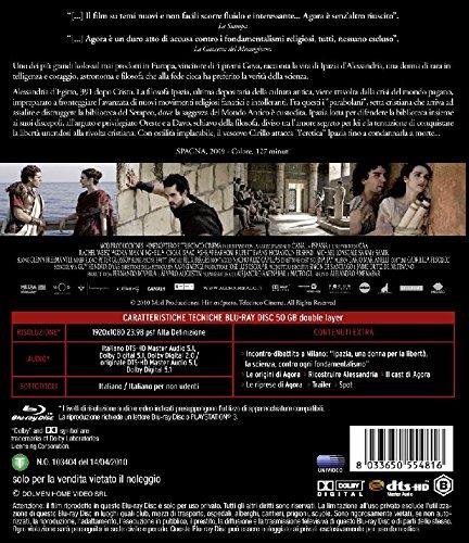 Agora [Italia] [Blu-ray]: Amazon.es: Rupert Evans, Michael Lonsdale, Dario Marianelli, Max Minghella, Sami Samir, Rachel Weisz, Alejandro Amenabar: Cine y ...