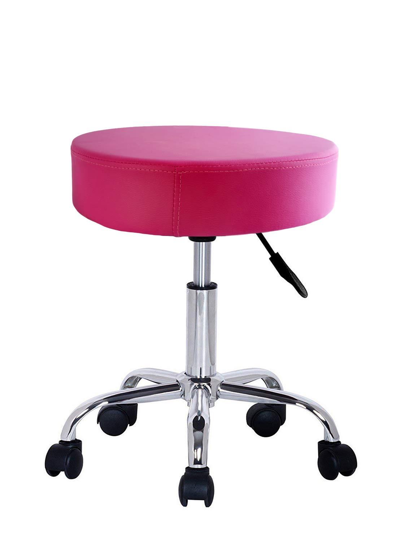 con ruote Crisnails per saloni di parrucchiere o estetista e studi dentistici Verde Sgabello girevole professionale