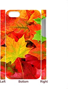 Tyboo Phone Cases For Apple Iphone 4S 4 Th Printed Autumn Scenery Maple Leaves For Children Unique Plastic