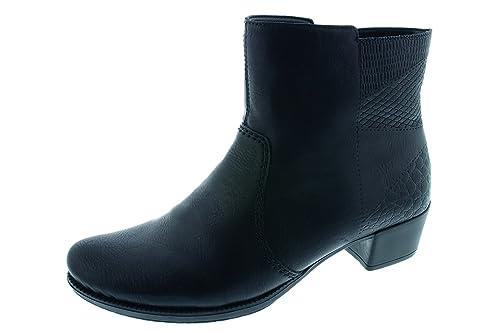 1eea276708e6 Rieker Women s Ankle Boots 76660-00 Black  Amazon.co.uk  Shoes   Bags