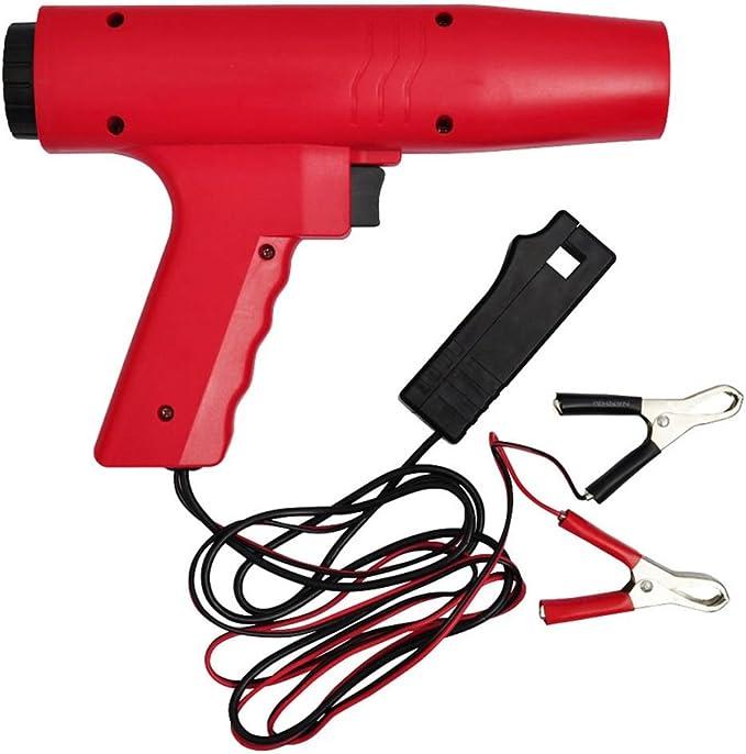 Festnight Zündlichtpistole Stroboskoplampe Abs Geh Use Blitzpistole Zündung Bis 8000 Rpm Baumarkt