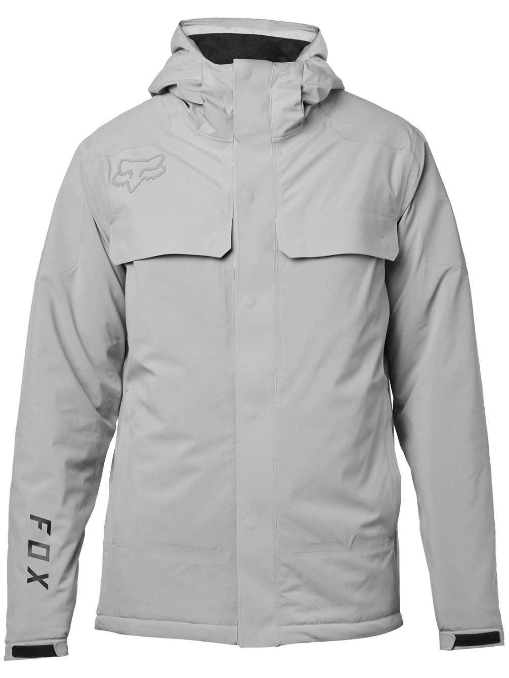 22560-172-M STEEL GREY Fox Racing Redplate Flexair Jacket MEDIUM