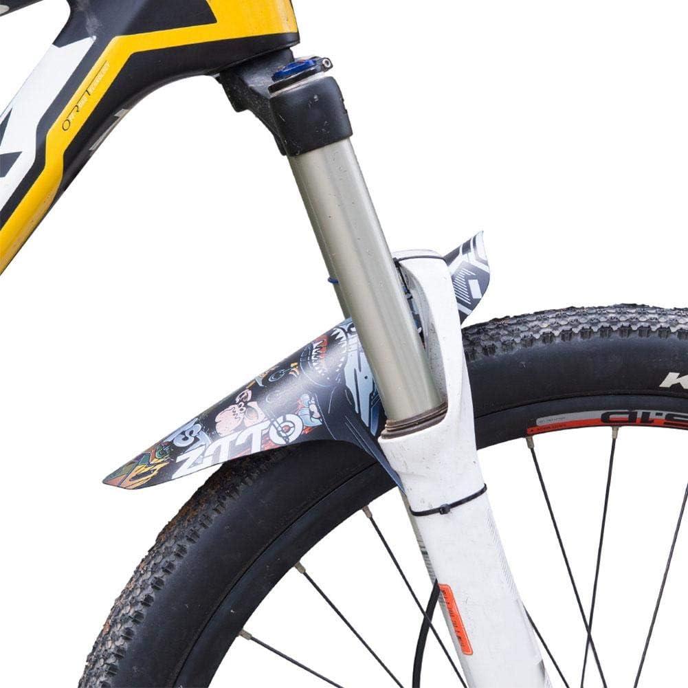 parafango Posteriore Bici Bici parafango Posteriore Parafango Pioggia Regolabile per Bici da Strada Mountain Bike Dilwe Parafanghi Bici