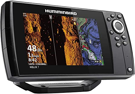 411060-1 Humminbird HELIX® 7 CHIRP Fishfinder//GPS G3N w//Transducer