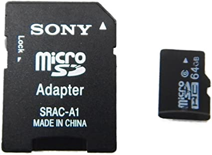 Sony 64GB microSDXC Class 10 UHS-1 Memory Card (OLD MODEL)