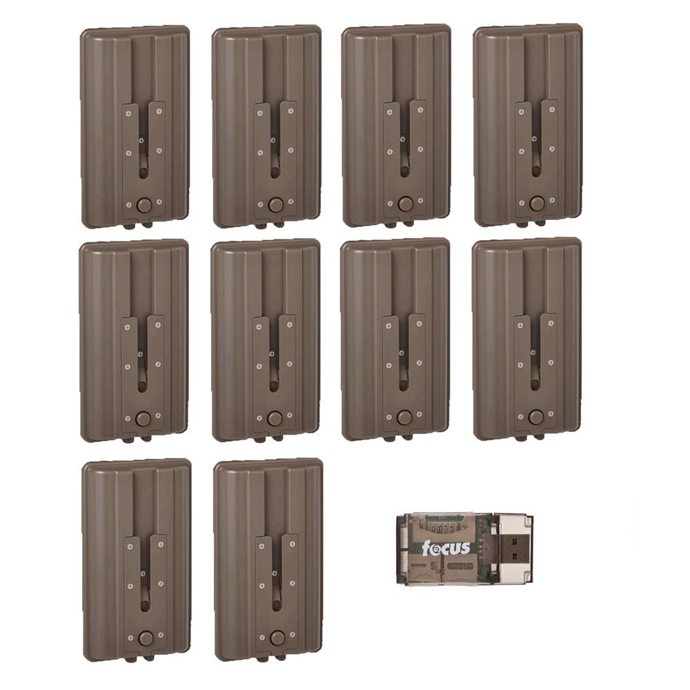 Cuddeback CuddePower Battery Booster for C and G Trail Cameras E Extends Life by 3 Months 4-Pack
