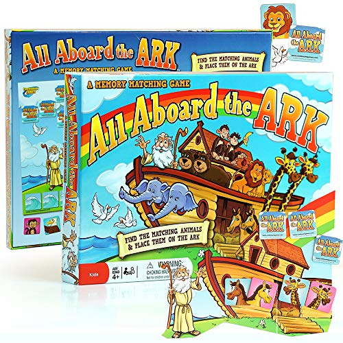 Noahs Ark Card Game - Continuum Games All Aboard the Ark Board Game - Kids Age 4 and Up