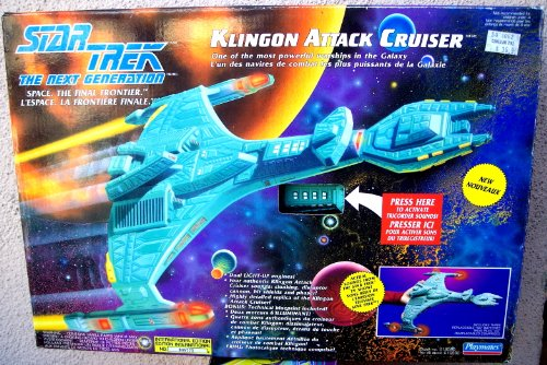 Star Trek The Next Generation Klingon Attack Cruiser