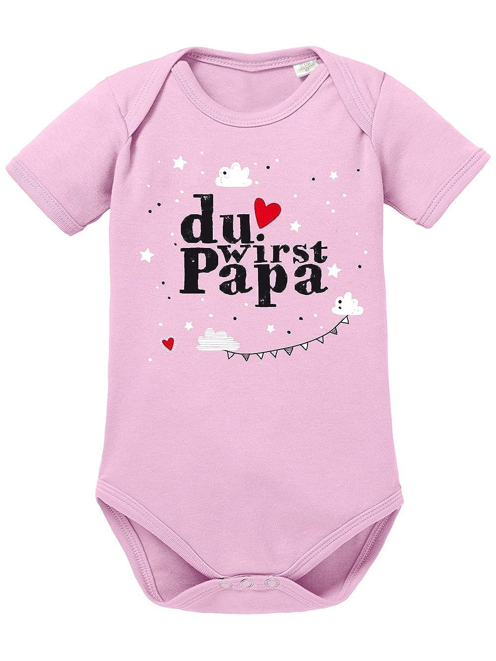 clothinx Baby Body Unisex Geburt Du Wirst Papa