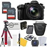 Panasonic Lumix DMC-FZ1000 Digital Camera + 2 x 32GB Card + Photo Accessory Bundle