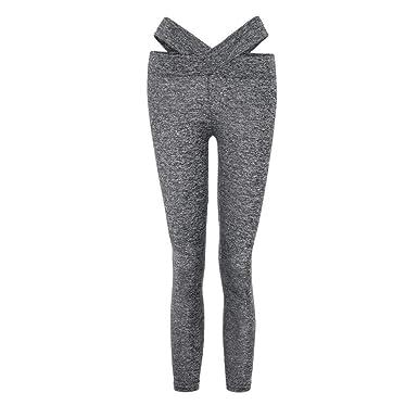 d23c385403e2 LHWY Hosen Damen High Waist Skinny Frauen Yogahosen Slim Fitness ...