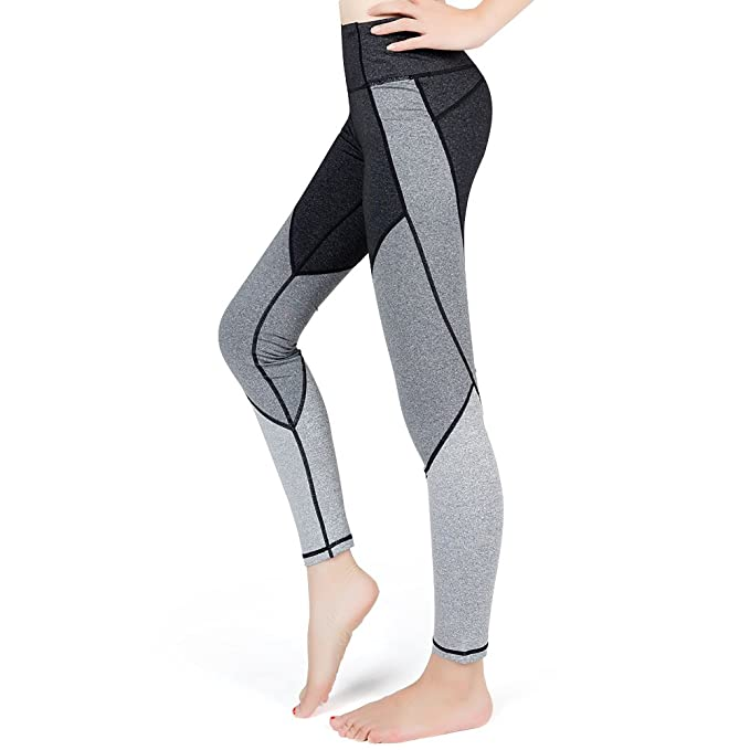 23e3fbe61d71 Lesfun Women Leggings Yoga Pants Compression Workout Running Exercise Tights  Fitness