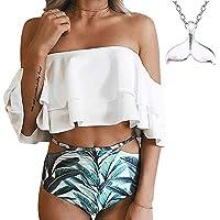 COME2LOOK Women's Sexy Bikini Set Two Pieces Swimsuit Swimwear Bathing Suit