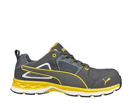 Puma Safety 643800 Pace 2.0 Yellow Low S1P – Botas de seguridad trabajo guantes fibra de