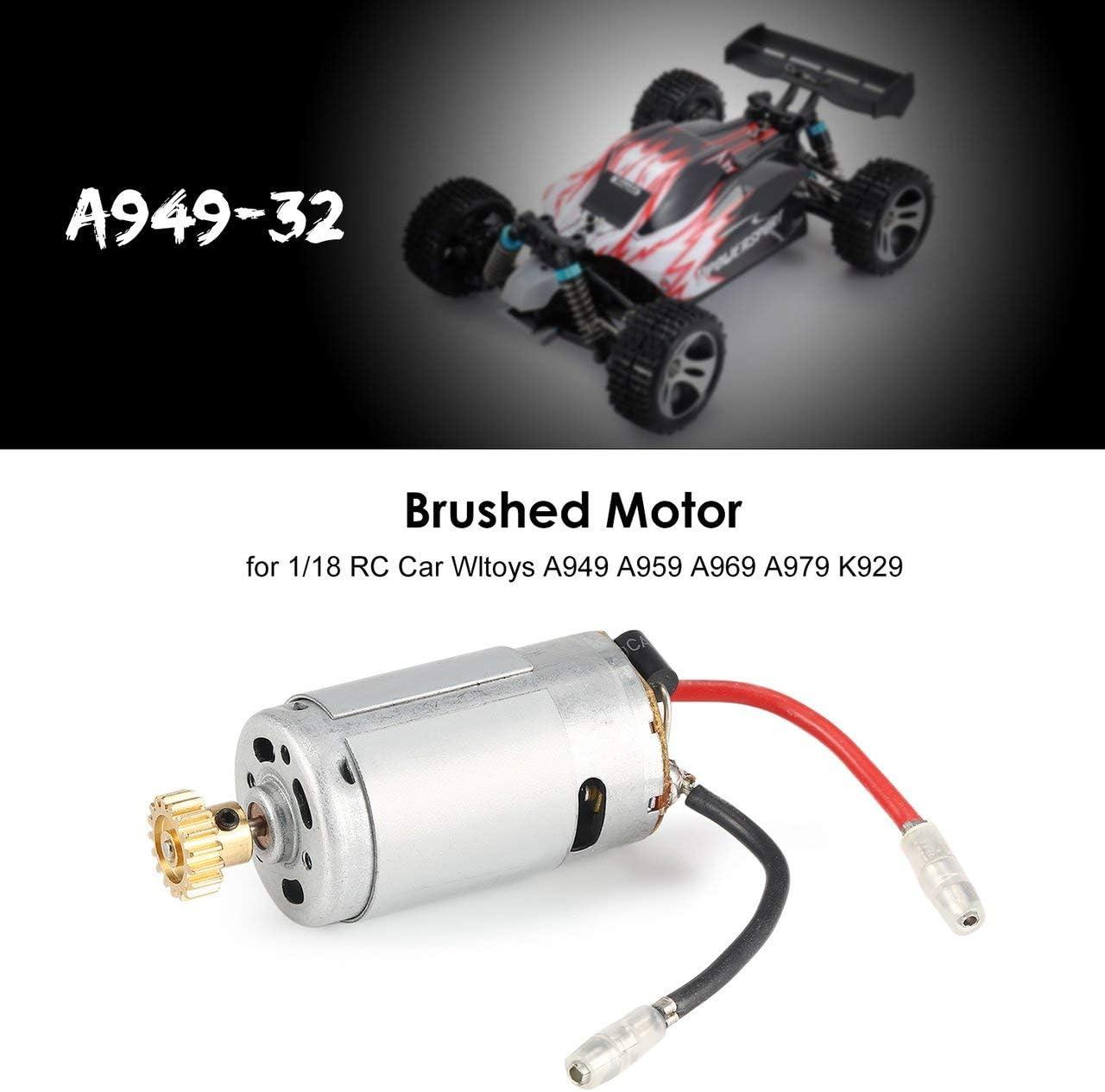 sumicorp.com DEjasnyfall Silber 1/18 RC Car Brushed Motor A949-32 ...