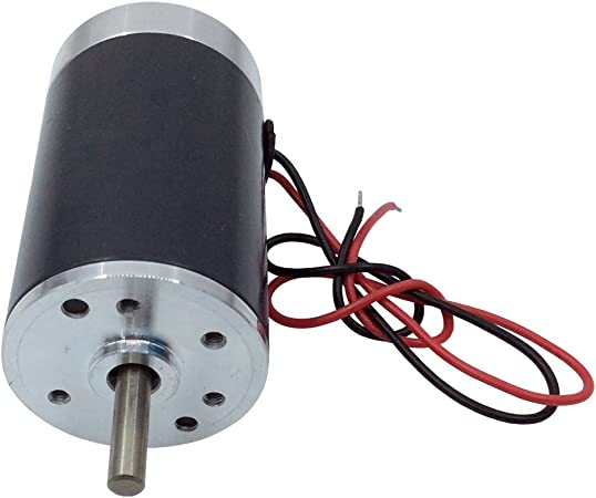 12V DC 8 RPM Gear-Box Speed Control Electric Motor Low Noise Diameter 38mm