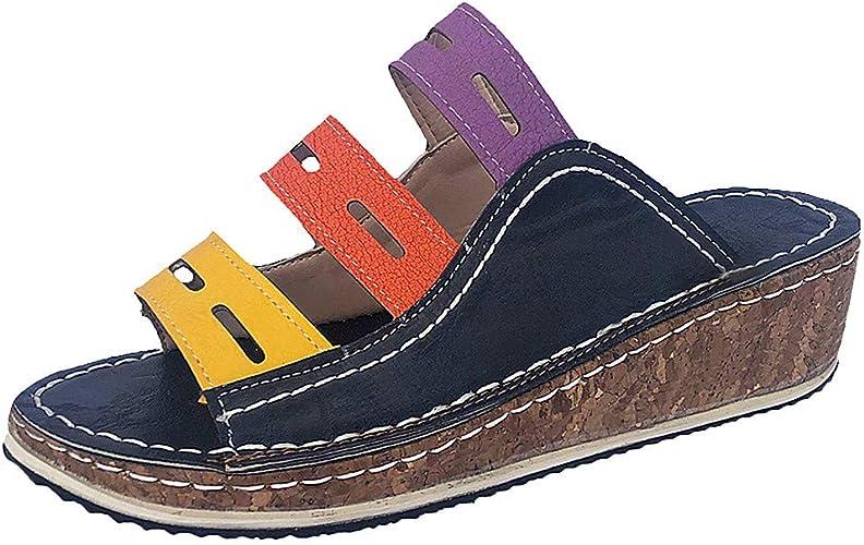 TTMall Pantofole Donna Estive Eleganti, correttore Ortopedico per Alluce  valgo da Donna Stivaletti Cuoio Donna Estivi Sandali Scarpe Romane  Infradito Elegant: Amazon.it: Scarpe e borse