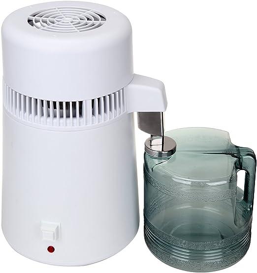 Destilador de agua, purificador profesional interior del acero ...
