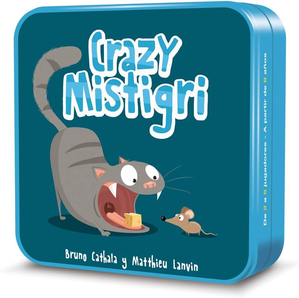 Cocktail Games- Crazy Mistigri - Juego de Cartas - Español (CGCM0001)