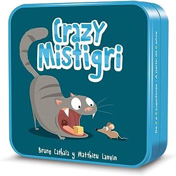 Cocktail Games- Crazy Mistigri - Juego de Cartas - Español (CGCM0001): Amazon.es: Juguetes y juegos
