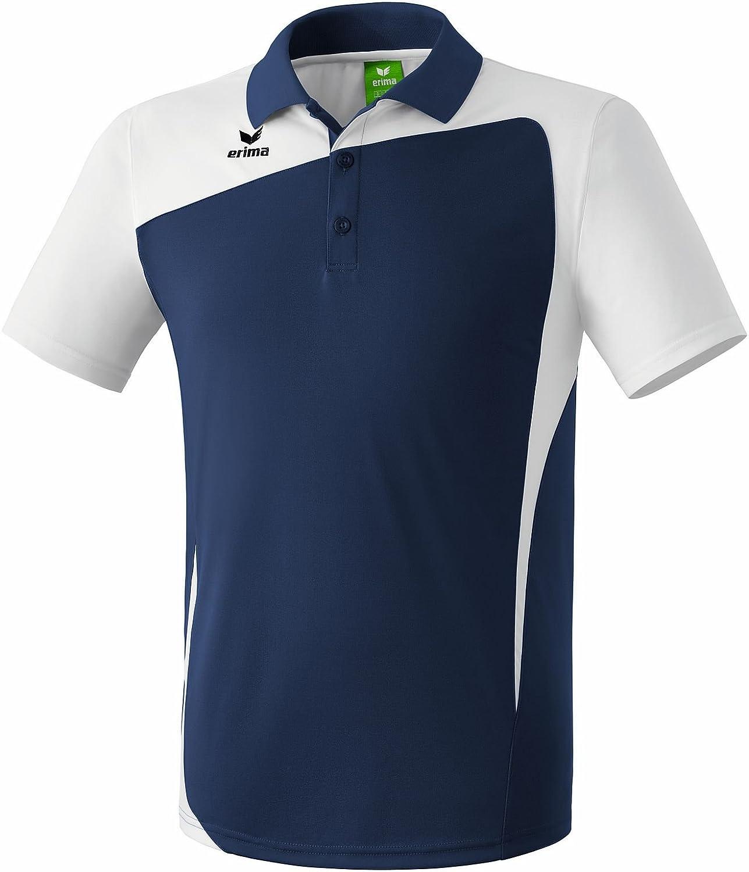 Erima Classic Team Herren Poloshirt Erwachsene Polyester navy weiß