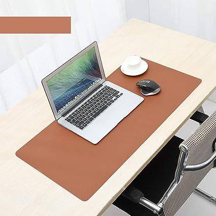 Almohadilla de escritorio de piel para oficina, grande, protector ...