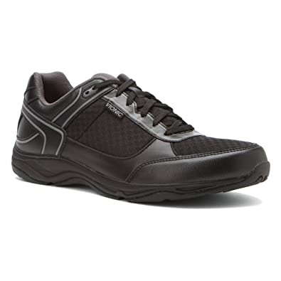 ed55b72cb18 Orthaheel Vionic Technology Mens Endurance Walking Shoes Black Size 10 UK  Size   9  Amazon.co.uk  Shoes   Bags