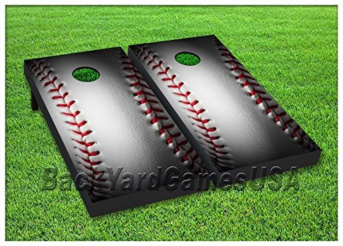 BASEBALL Custom Cornhole Boards BEANBAG TOSS GAME w Bags Yankees & MLB Fans S 81