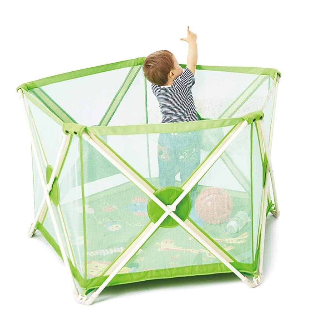 Hulan Baby Fence Children's Fence Toddler Fence Crawling mat Home Indoor Playground high 112x75cm (Size : 112x75cm)