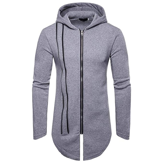 Yvelands ¡Oferta Solid Color Zipper Stitching Hood Casual Sweater Coat Casual Sudaderas Hoodies Cozy Sport Outwear Top Blusa ¡Caliente!: