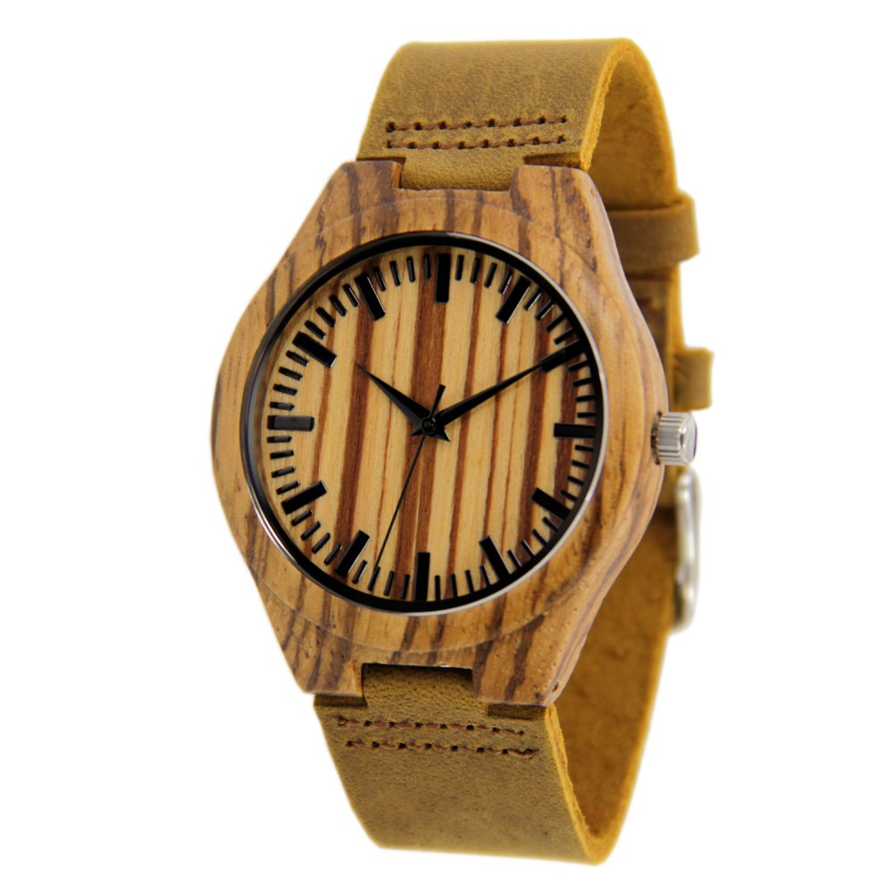 Zebra Watches for Men with Genuine Leather Strap Gift Watch