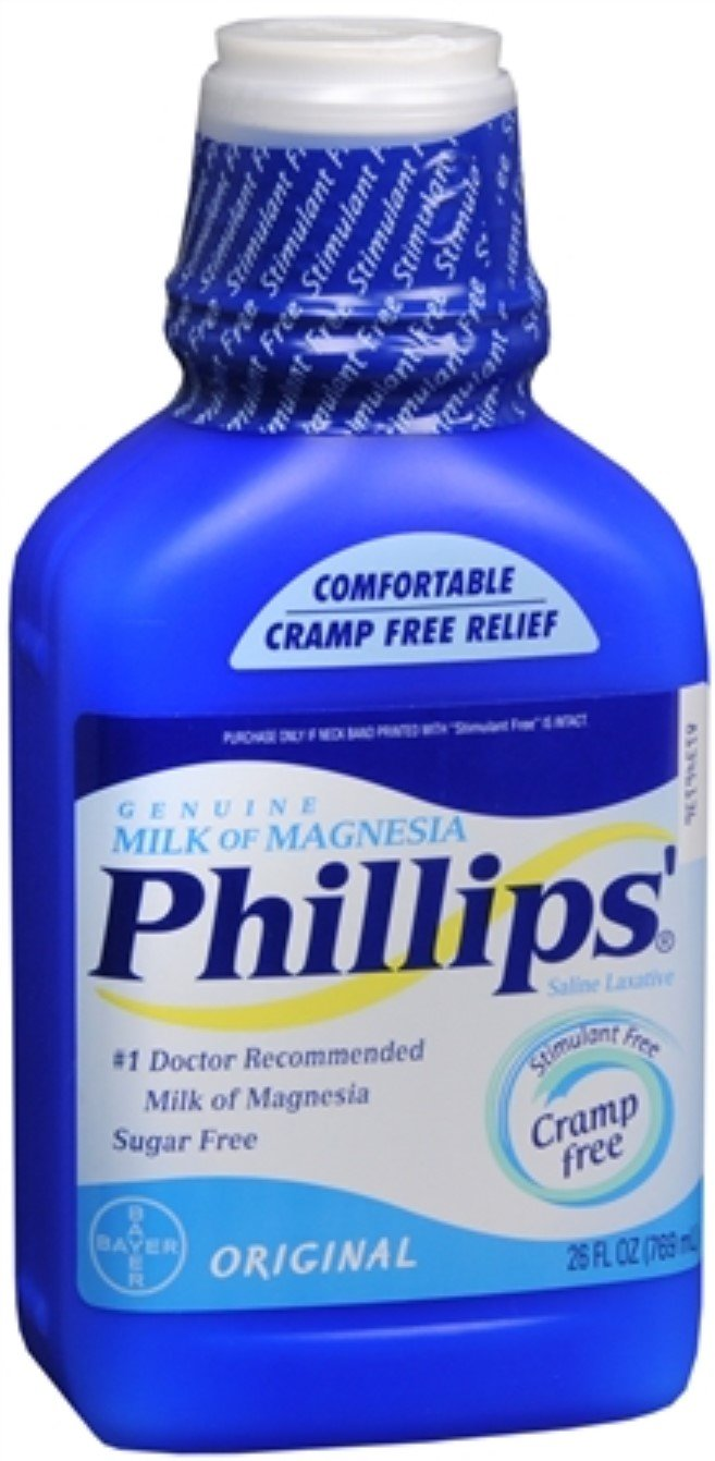 Amazon.com: Phillips Milk of Magnesia Original 26 oz (Pack of 5): Health & Personal Care
