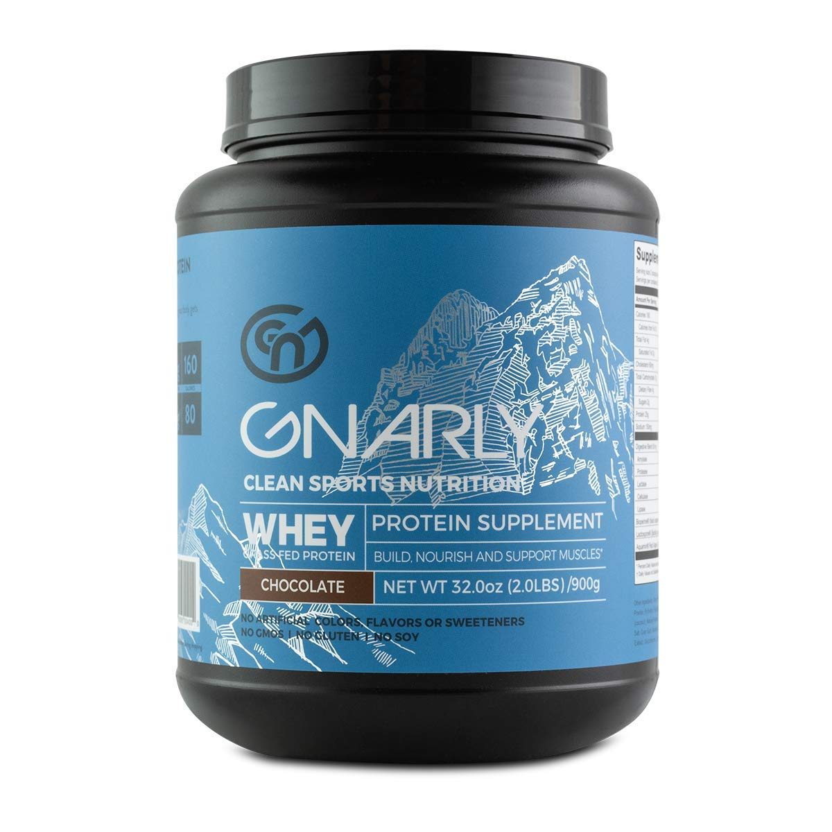 Gnarly, Whey Protein Chocolate, 32 Ounce