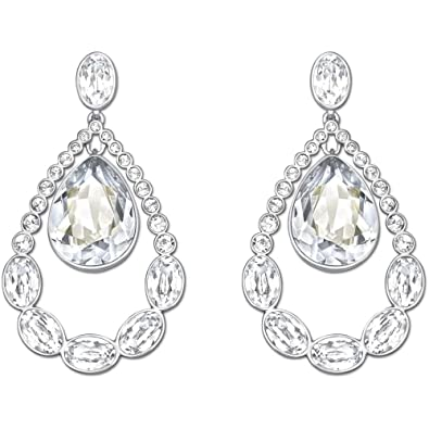 ac87e5c59 Image Unavailable. Image not available for. Color: Swarovski Almost Pierced  Earrings