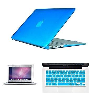 Carcasa rígida de cristal transparente/mate – Carcasa para MacBook Air de 11 pulgadas Funda