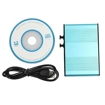Amazon.com: Caja de tarjeta de sonido externa S/PDIF óptico ...