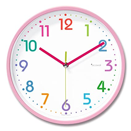 Deco Wall DSH de p25p 9.8 No de tickende Stille Modern Pastel Reloj de pared
