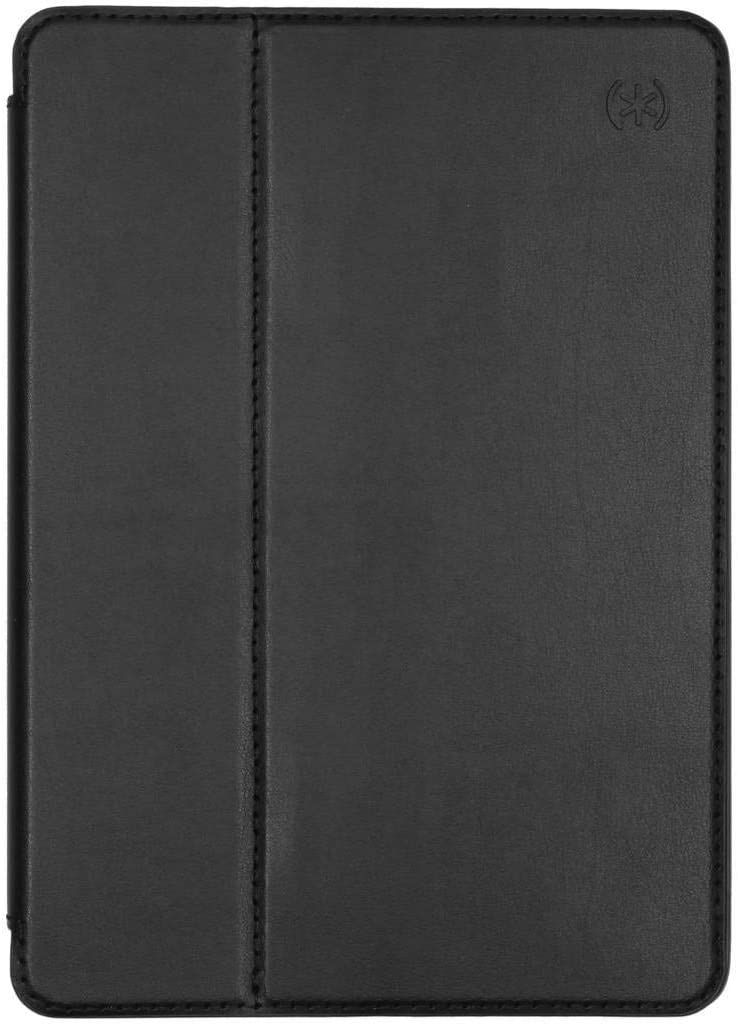 Speck Products Compatible Case for Apple iPad 9.7-Inch (2017), 9.7-Inch iPad Pro, iPad Air 2/Air, BalanceFolio Leather Case, Black/Black