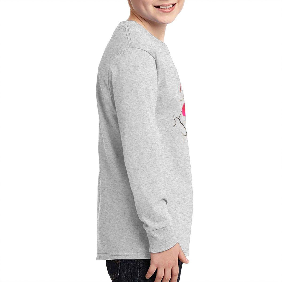 TWOSKILL Youth Pink-P!nk Long Sleeves Shirt Boys Girls