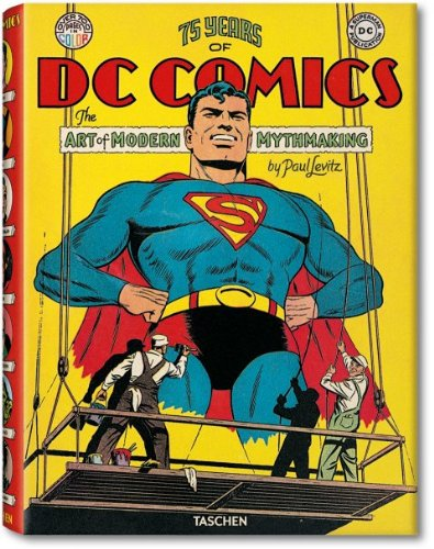 75 Years Of DC Comics Book