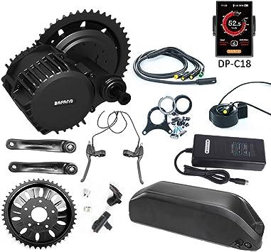 BAFANG BBS03 BBSHD 1000W 48V Kit de bicicleta de motor medio con ...