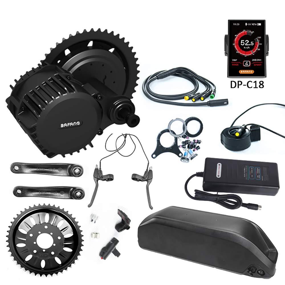Bafang BBS03 BBSHD - Kit para Bicicleta (Motor Medio de 1000 W, 48 V, batería de Litio, 48 V, 17,5 Ah)