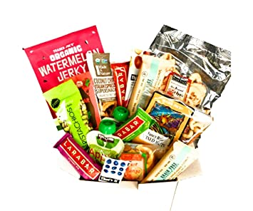 Paleo Vegan Whole Food Snack Gift Box! Paleo Vegan And Organic Snacks! Assortment Of